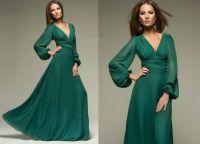 zelene haljine 2015