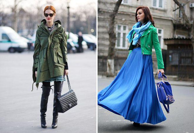 сумка к зеленой куртке