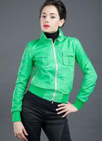 Зелена јакна 2