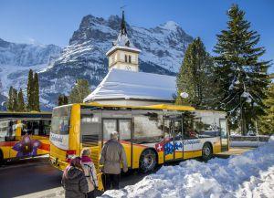 Общественный транспорт курорта