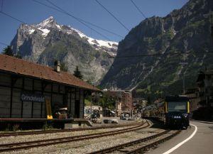 Вокзал Гриндельвальда