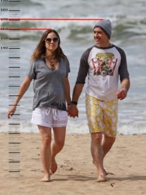Роберт Дауни с женой