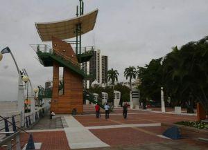 Гуаякиль - набережная Симона Боливара