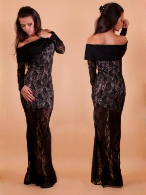 Sukienka z gipiury na Nowy Rok11