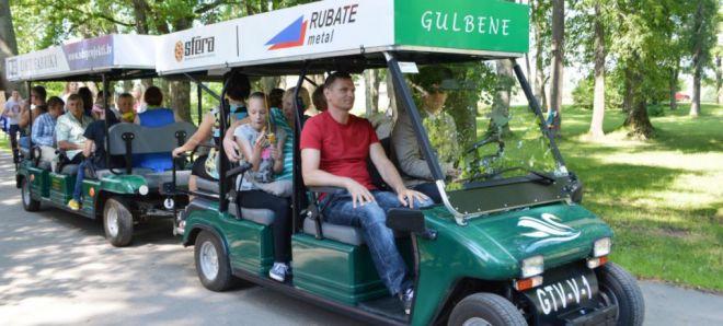 Экскурсия на автопоезде