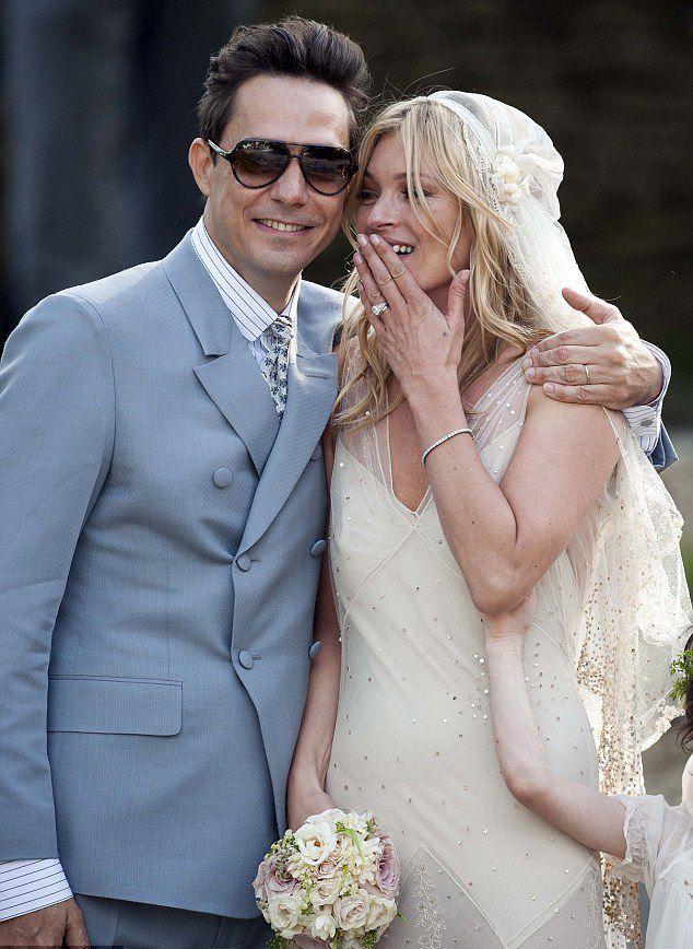 Свадьба Джейми Хинса и Кейт Мосс  в 2011 году