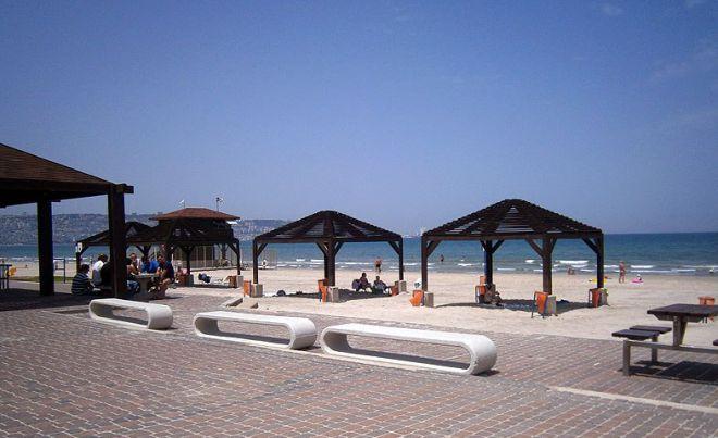 Пляж Кирьят-Хаиму