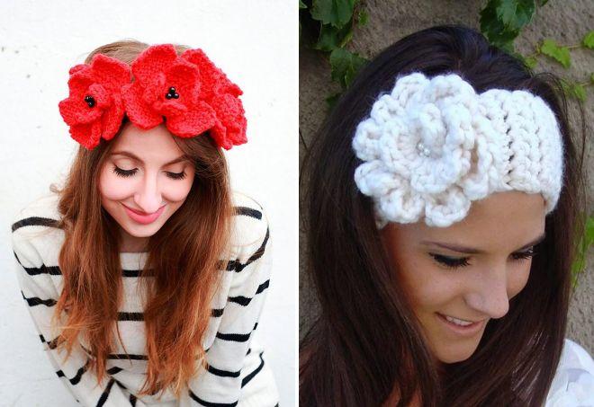 kwiaty pałąka na włosy