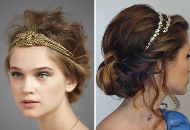grecki opatrunek do włosów