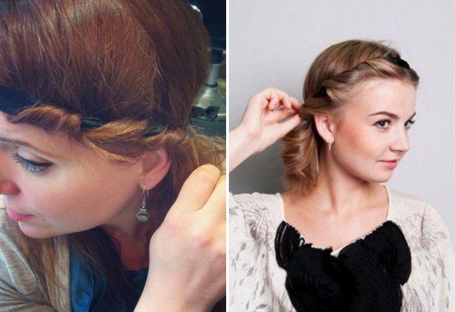 loki z opatrunkiem na włosy