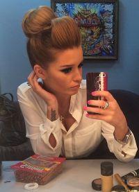 Boja kose kao u Xenia Borodina 20152