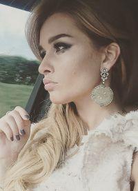 Boja kose kao u Xenia Borodina 20156