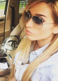 Boja kose poput Ksenia Borodina 20158