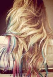Kolorowanie włosów za pomocą pasteli