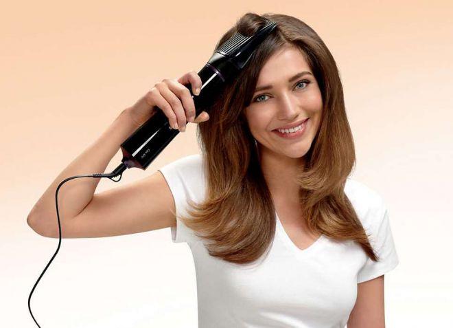 фен расческа для объема волос