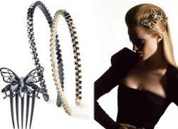 modne spinki do włosów