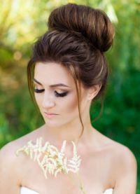 прическа при дълга коса 1