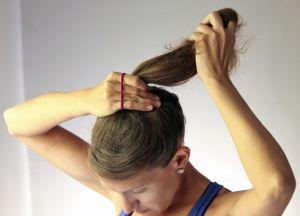 како направити лепак за фризуру на средњој коси 1
