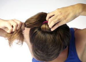 како направити лепак за фризуру на средњој коси 2