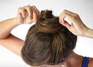 како направити лепак за фризуру на средњој коси 3