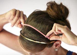 како направити лепак за фризуру на средњој коси 4