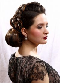 fryzura dla matki panny młodej 5