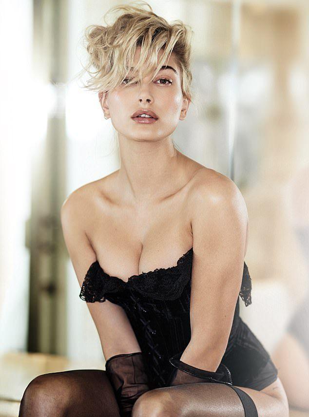 Хейли Болдуин для журнала Maxim