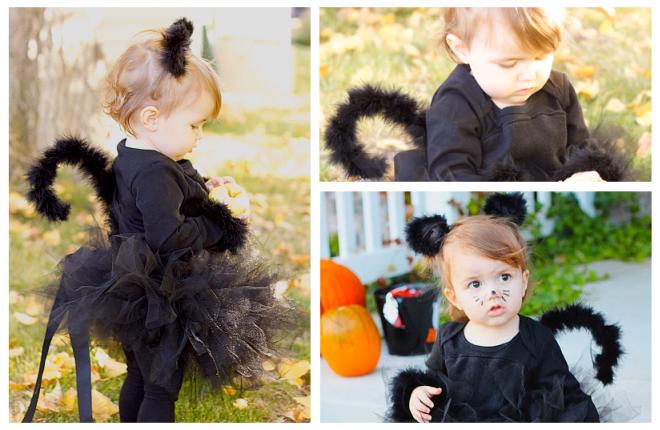 Halloween kostim za djevojčice to čini sami1