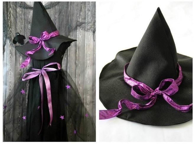 Halloween kostim za djevojku s vlastitim rukama23
