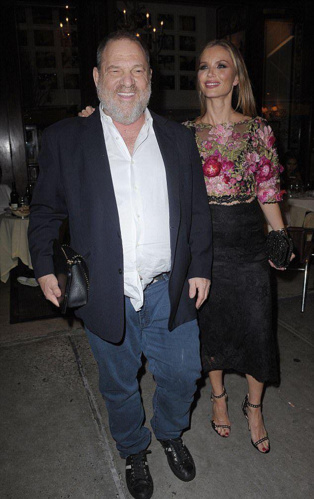 Харви Вайнштейн с женой Джорджиной Чапман в сентябре прошлого года