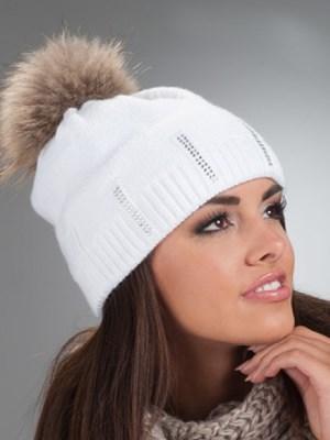 Шешири са помпоном од природног крзна1