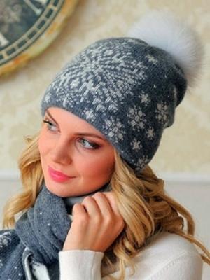 Шешири са помпоном од природног крзна2