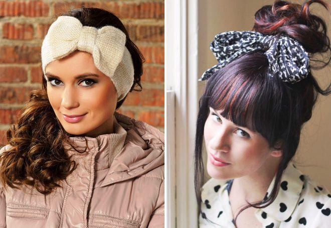 модные повязки на голову 2017