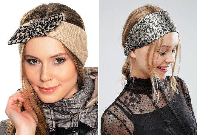 повязки на голову для женщин