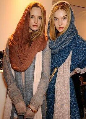 Headscarves - zima 7