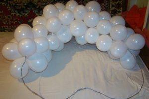 serce balonów własnymi rękami14