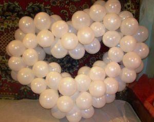 serce balonów zrób to sam 15