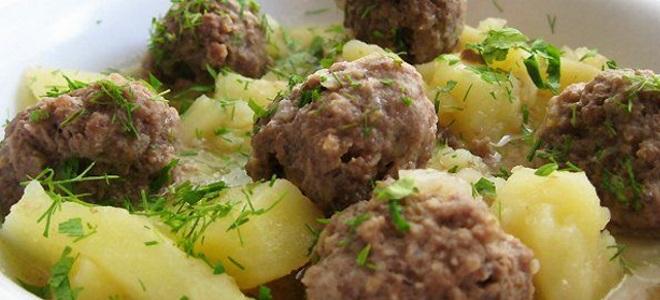 Meso mesa s krumpirom u pećnici