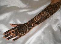 henna malování na rukou1