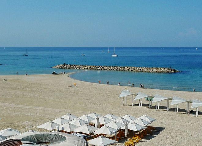 Пляжи Герцлии