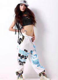 Hip-hopové oblečení pro holky7