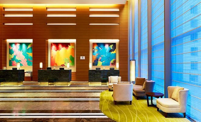 Один из лучших отелей Хиросимы Sheraton Grand Hiroshima Hotel