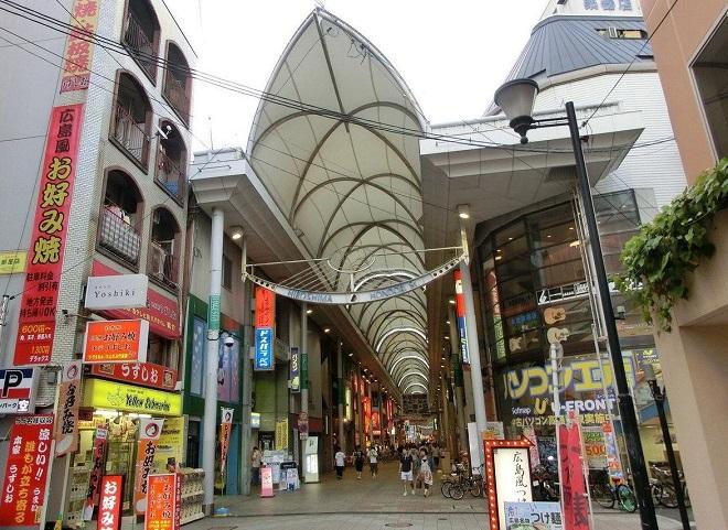 Главная торговая улица Hondori Street