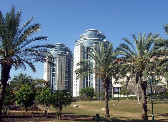 Ход-ха-Шарон - живописный пригород Тель-Авива