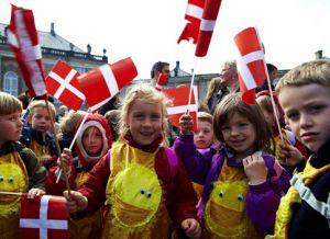 В Дании Пасха похожа на Хэллоуин