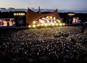 Музыкальный фестиваль Роскилле в Дании