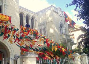 В дни праздников гренадцы украшают свои дома