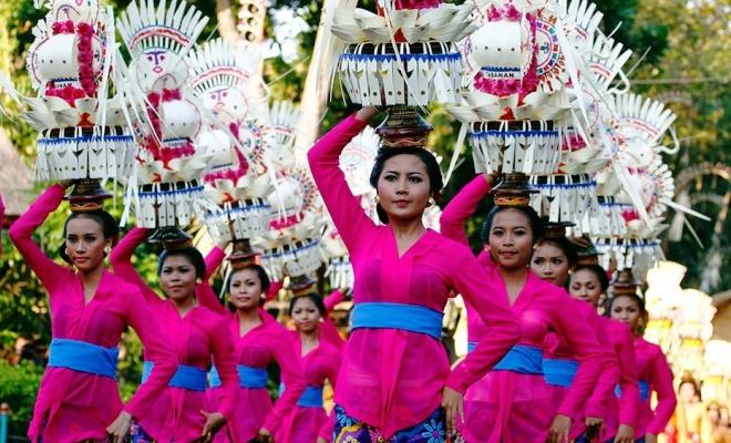 Фестиваль в Индонезии