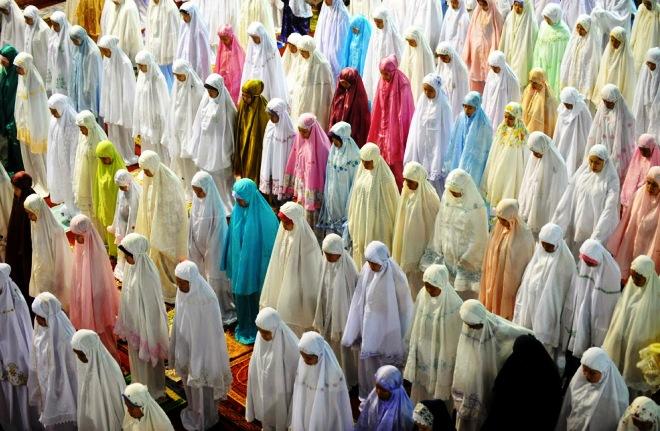 Молитва в первый день Рамадана