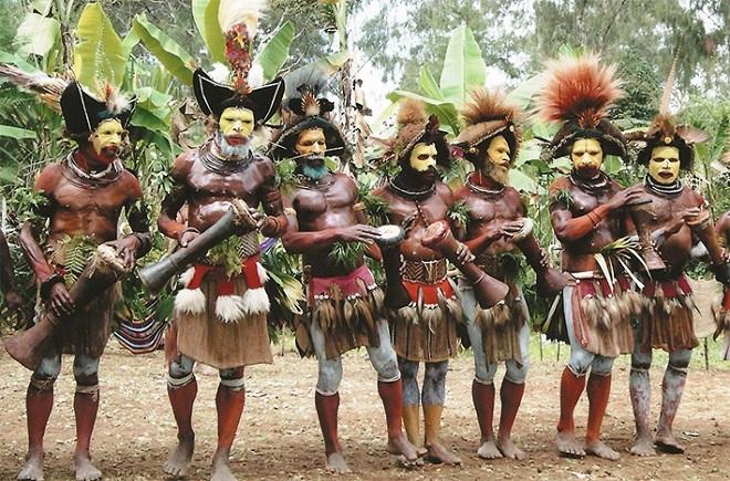 Племя даяки